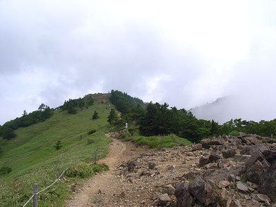 大菩薩峠から大菩薩嶺方向の眺め