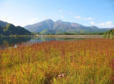 福島県秋元湖