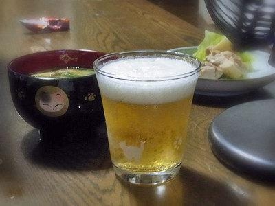 ネコ柄グラス