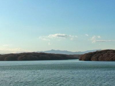 水源の山々