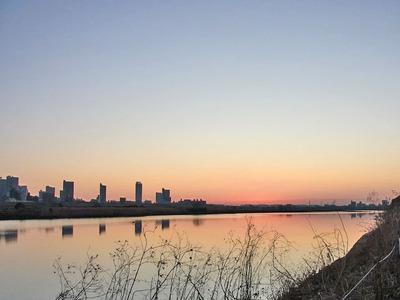 夜明けの景色