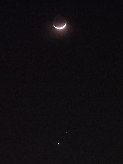 月・火星・金星