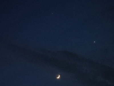 月・木星・金星