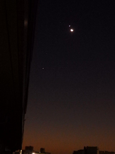 月・金星・レグルス・火星・木星