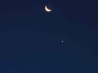 月・金星・土星