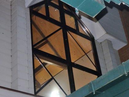 窓の残り蛾