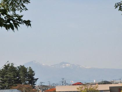 安達太良山と和尚山