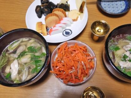 元日の食卓