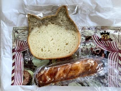 ネコ型パン