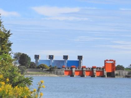 青水門と赤水